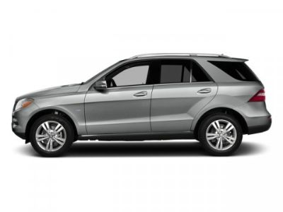 2015 Mercedes-Benz M-Class ML350 4MATIC (Palladium Silver Metallic)