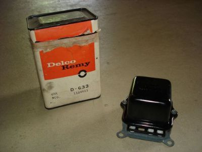 Sell 1969 69 NOS PONTIAC GTO JUDGE DELCO REMY VOLTAGE REGULATOR 1119511 DATED 9M motorcycle in Louisville, Ohio, United States, for US $399.95