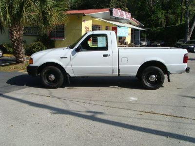 2002 Ford Ranger Edge (White)