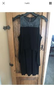 BCBG new with tags black dress
