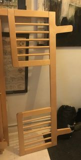 Oeuf Sparrow Crib (Birch), Toddler Bed Conversion