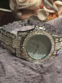 Beautiful Iced Out Watch