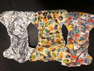 Blueberry Pocket Diapers