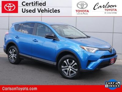 2017 Toyota RAV4 LE (Electric Storm Blue)