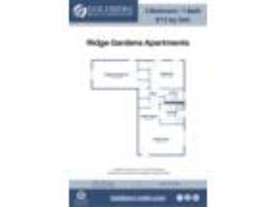 Ridge Gardens Apartments - 2 BR-1 BA