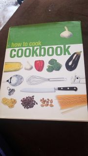 How to cook hard cover cookbook