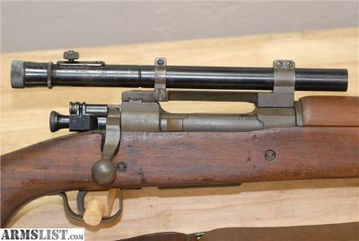 For Sale: Remington 1903A4 Sniper Rifle M73B1 WW2