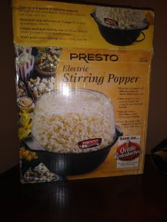 POPCORN POPPER   Brand new. Still in the box.