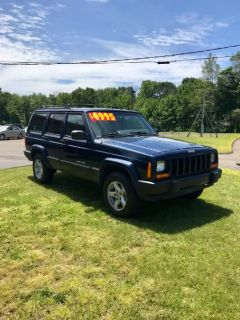 2001 Jeep Cherokee Sport (Patriot Blue Pearl)