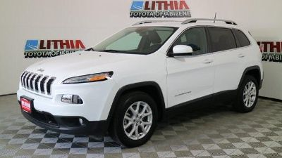 2018 Jeep Cherokee (Bright White Clear Coat)