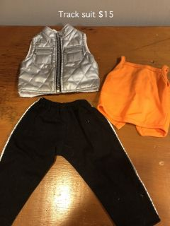 "Track Suit fits 18"" Doll"