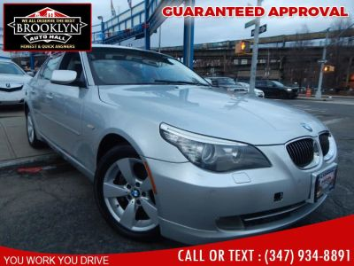 2008 BMW 5-Series 528xi (Platinum Gray Metallic)