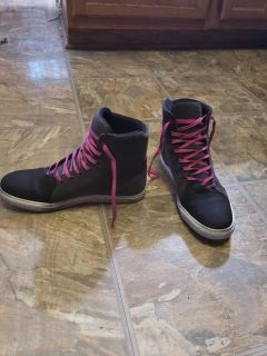 Womens motorcycle shoes