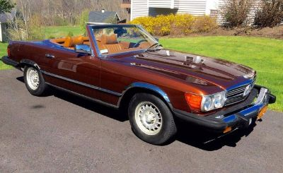 1979 Mercedes-Benz 450SL Covertible