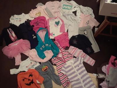 Baby girl 12 month lot