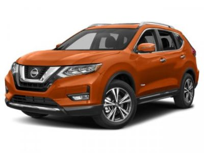 2019 Nissan Rogue SL Hybrid (Magnetic Black Pearl)