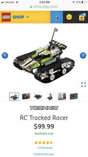 LEGO Technics RC Racer new in box