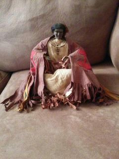 Indian chief doll in very good condition