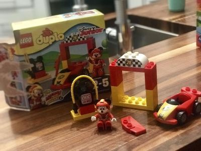 Mickey and the Roadster Racers Duplo Set