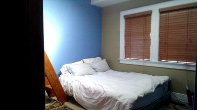 Sunny room with loft