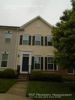 Beautiful 3 Bedroom townhouse in Sykesville