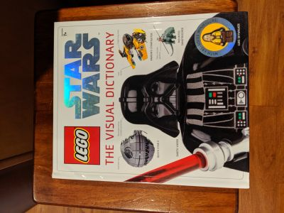 Star Wars Lego Dictionary WITH MINI FIG
