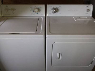 Whirlpool Roper Washer Dryer Set