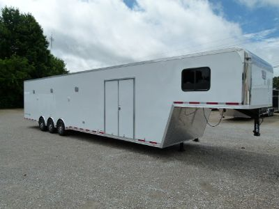 2018 44' VINTAGE PROSTOCK BATHROOM TRAILER