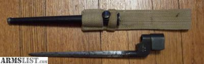 For Sale: Enfield No. 4, MK I Cruciform Spike Bayonet-Singer