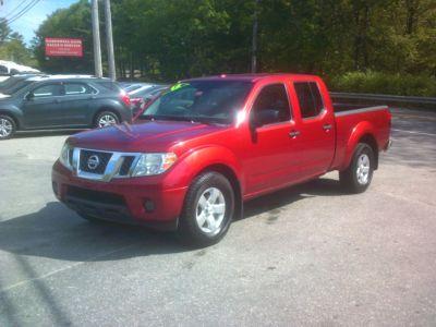 2012 Nissan Frontier SV V6 (Red)