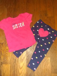 Girls 6/9m outfit