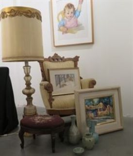 Estate Sale: Furniture, Paintings, Stained Glass