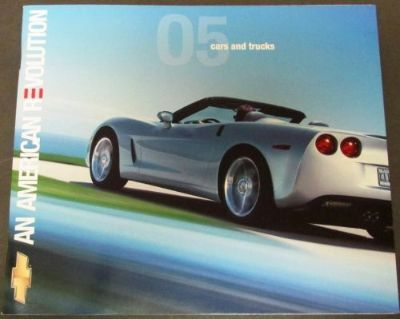Sell 2005 Chevrolet Dealer Prestige Brochure Full Line Car Truck Corvette Monte Carlo motorcycle in Holts Summit, Missouri, United States, for US $19.05