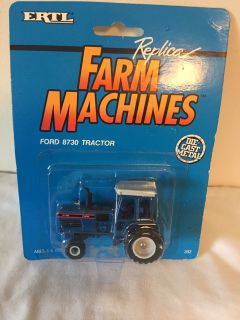Ford 8730 Tractor Ertl Die Cast Farm Machines