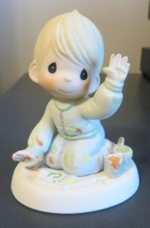 """Precious Moments Figurine - """"Love From the First Impression-Boy"""" - Great Mother's Day Gift!"""