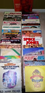 Comedy LPs For Sale $5-$10
