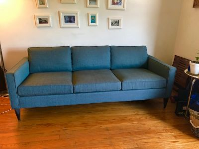 "Mid-Century Modern Room&Board 82"" Three-Cushions"