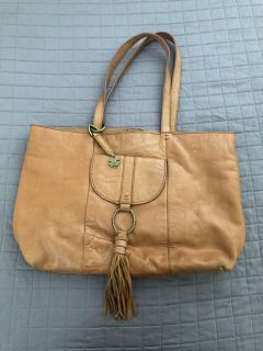 Lucky Brand Leather Tote.