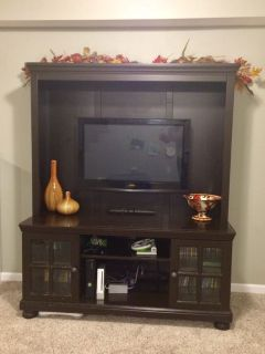 Entertainment Center and TV Combo