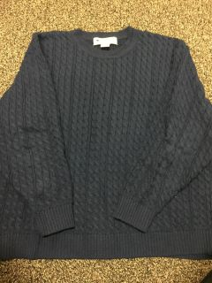 Appleseeds cable knit sweater