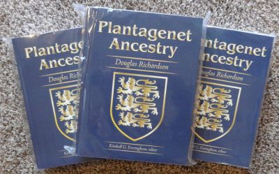PLANTAGENET ANCESTRY - (2011) Expanded Second Edition - All Three Volumes - By Douglas Richardson