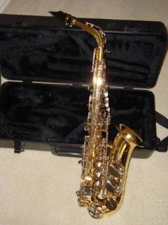 Selmer Alto Saxophone with Case and Accesories