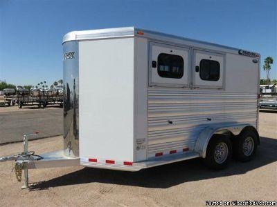 2015 Cimarron Barely Used 2 horse trailer BP
