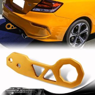 """Purchase JDM 2"""" Anodized CNC Billet Aluminum GOLD Rear Bumper Racing Tow Hook For Ford motorcycle in Rowland Heights, California, United States"""