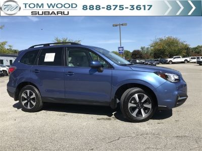 2018 Subaru Forester 2.5i Limited (Quartz Blue)