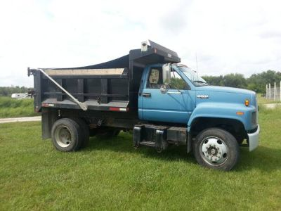 Chevrolet Kodiak Single Axle Dump Truck Diesel Dodwin Dump Manual Tran