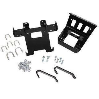 Sell Warn 74247 Winch Mounting Plate Steel Black Jeep Each motorcycle in Tallmadge, Ohio, US, for US $337.97