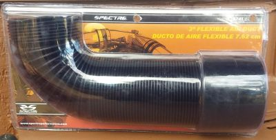 """3"""" flexable air duct and air filter"""