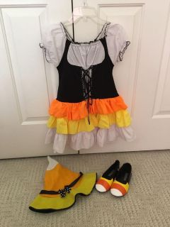 Candy Coen Witch with hat and shoes! Size 8/10ish. $15