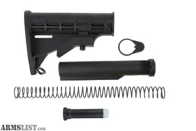 For Sale: Tiger Rock AR-15 - 6 Position Collapsible Stock Kit MIL-SPEC